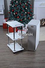 Маникюрный стол + тележка на колёсиках., фото 3