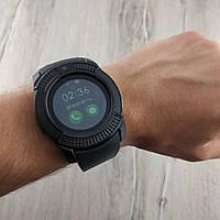 Smart Watch V8 умные смарт часы телефон с громкой связью черные