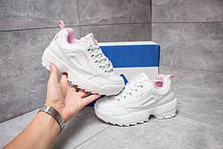 Кроссовки женские  Fila Disruptor 2, белые (14484) размеры в наличии ► [  40 (последняя пара)  ], фото 2
