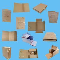 Нотариальные архивные папки для документов на завязках, фото 1