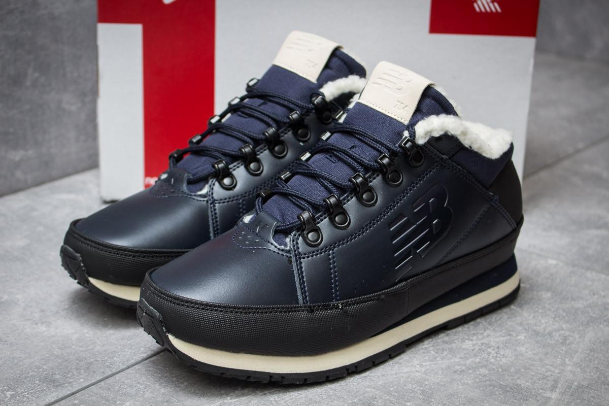 Зимние кроссовки  на мехуNew Balance 754, темно-синие (30262) размеры в наличии ► [  41 43  ]