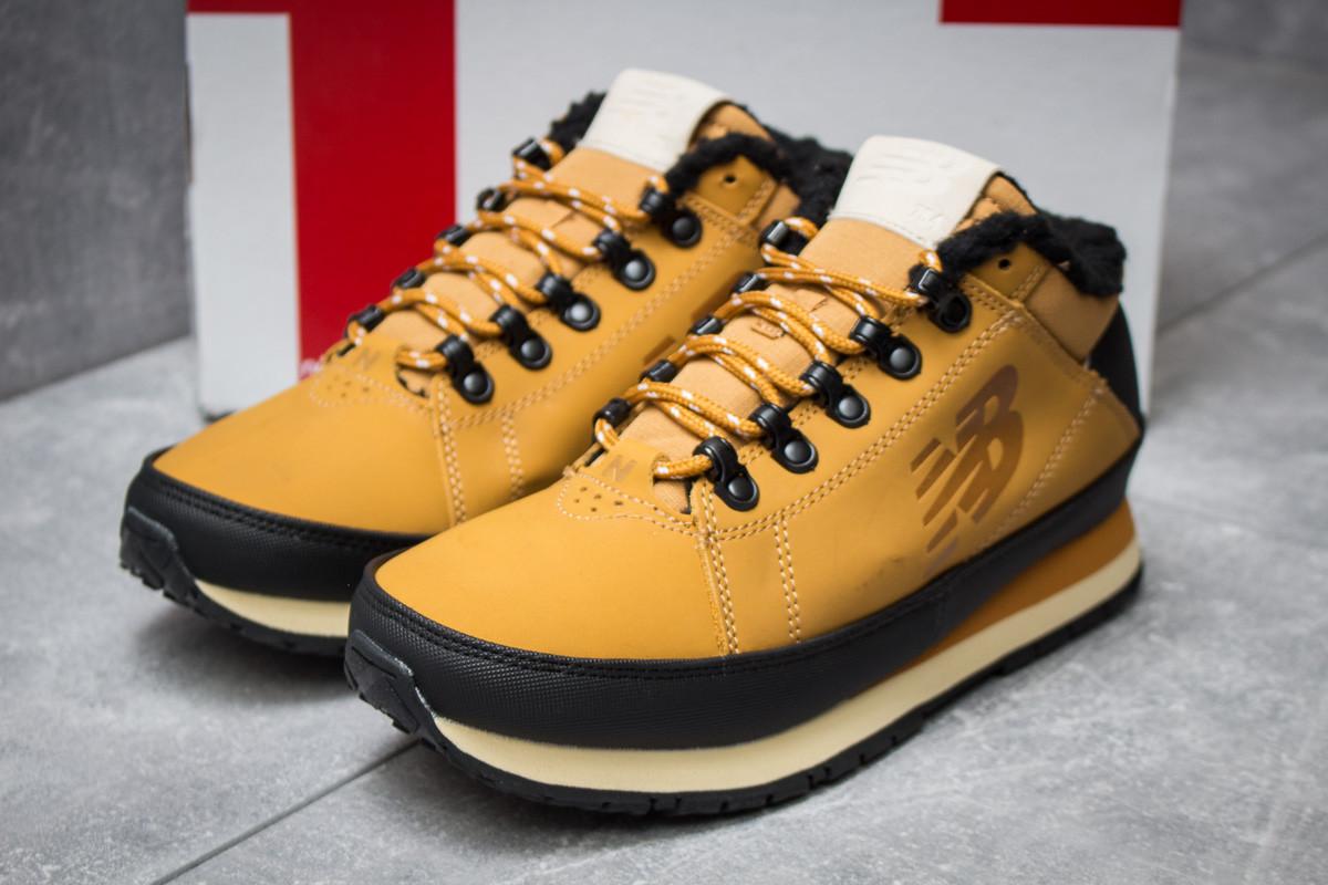 Зимние кроссовки  на мехуNew Balance 754, коричневые (30265) размеры в наличии ► [  43 (последняя пара)  ]