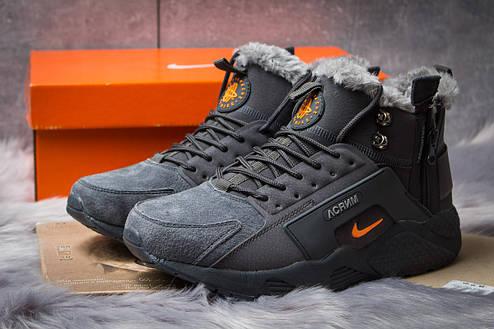 Зимние ботинки Nike Acronym, серые (30371) размеры в наличии ► [  42 (последняя пара)  ], фото 2