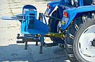 """Подрібнювач гілок """"Преміум""""для трактора (без конуса, трехточ. крепл., 2-ст. заточка ножів)(діаметр до 50 мм), фото 5"""