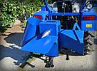 """Подрібнювач гілок """"Преміум""""для трактора (без конуса, трехточ. крепл., 2-ст. заточка ножів)(діаметр до 50 мм), фото 8"""