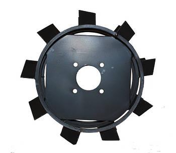 """Грунтозацеп Зирка-105 """"Премиум"""" 38 см (пара) (380х150 мм, без втулки)"""