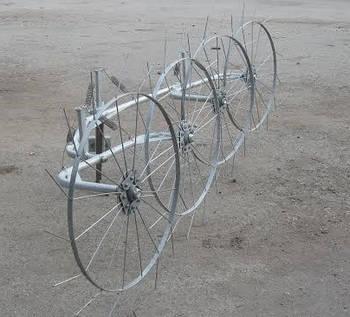 """Грабли-ворошилки (""""солнышко"""") ТМ Ярило (1,5 м, 2 колеса)"""