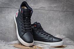 Зимние ботинки  на меху Converse Waterproof, темно-синие (30492) размеры в наличии ► [  41 (последняя пара)  ], фото 3