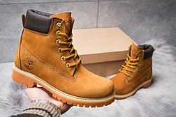 Зимние ботинки  на мехуTimberland 6 Premium Boot, рыжие (30661) размеры в наличии ► [  36 37 39 40  ], фото 2