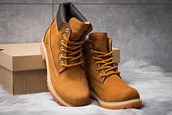 Зимние ботинки  на мехуTimberland 6 Premium Boot, рыжие (30661) размеры в наличии ► [  36 37 39 40  ], фото 3