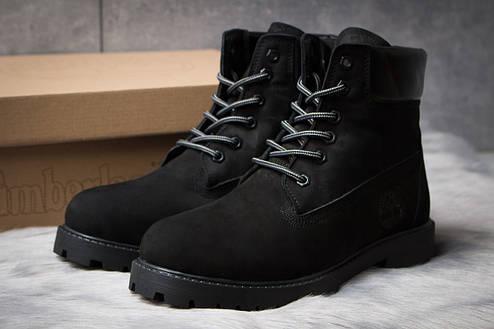 Зимние ботинки  на мехуTimberland 6 Premium Boot, черные (30652) размеры в наличии ► [  40 41  ], фото 2