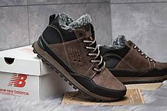 Зимние ботинки  на мехуNew Balance Expensive, коричневые (30672) размеры в наличии ► [  41 (последняя пара)  ], фото 3