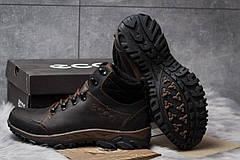 Зимние кроссовки  на мехуEcco Techmotion, коричневые (30711) размеры в наличии ► [  43 45  ], фото 2