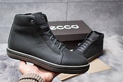 Зимние ботинки  на мехуEcco S Shoes, черные (30791) размеры в наличии ► [  40 44  ], фото 2