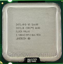 Процессор Intel Core 2 Quad Q6600 4x2.4GHz 8mb cache 1066MHz s775 бу