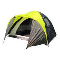 Палатка GreenCamp 1011-2 трехместная на 2 входа