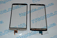 Оригинальный тачскрин сенсор (сенсорное стекло) LG G3 F400L D850 D851 D855 D856 D857 D858 D859 золотой + СКОТЧ