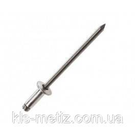 DIN 7337 Заклёпка вытяжная стальная, нержавеющая, фото 2