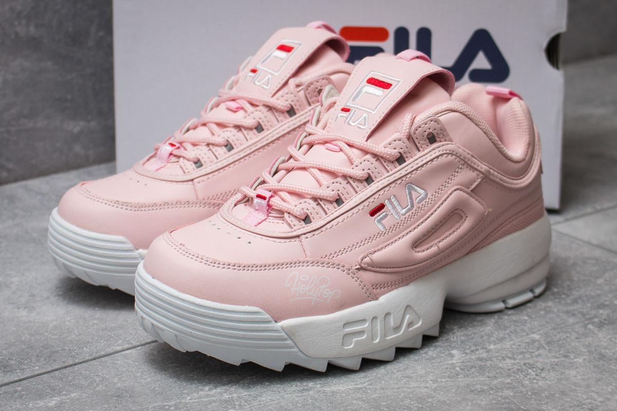 Кроссовки женские  Fila Disruptor, розовые (14252) размеры в наличии ► [  38 39  ]