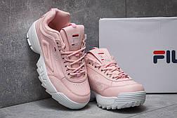 Кроссовки женские  Fila Disruptor, розовые (14252) размеры в наличии ► [  38 39  ], фото 3