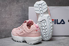 Кроссовки женские  Fila Disruptor, розовые (14252) размеры в наличии ► [  38 39  ], фото 2
