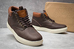 Зимние ботинки  на меху Timberland Groveton, коричневые (30113) размеры в наличии ► [  41 46  ], фото 3
