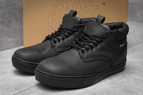 Зимние ботинки  на меху Timberland Groveton, черные (30114) размеры в наличии ► [  43 45  ], фото 2