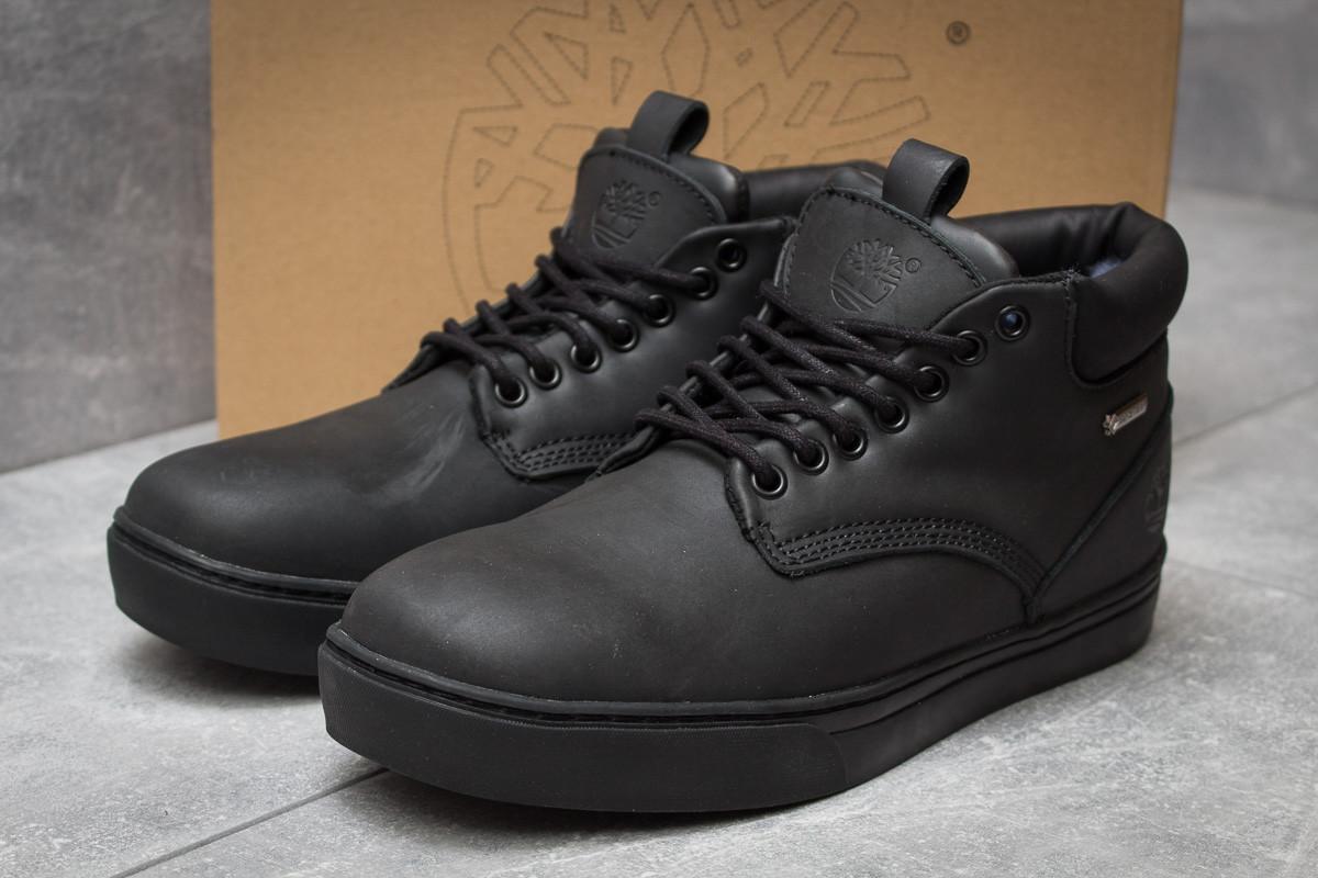 Зимние ботинки  на меху Timberland Groveton, черные (30114) размеры в наличии ► [  43 45  ]