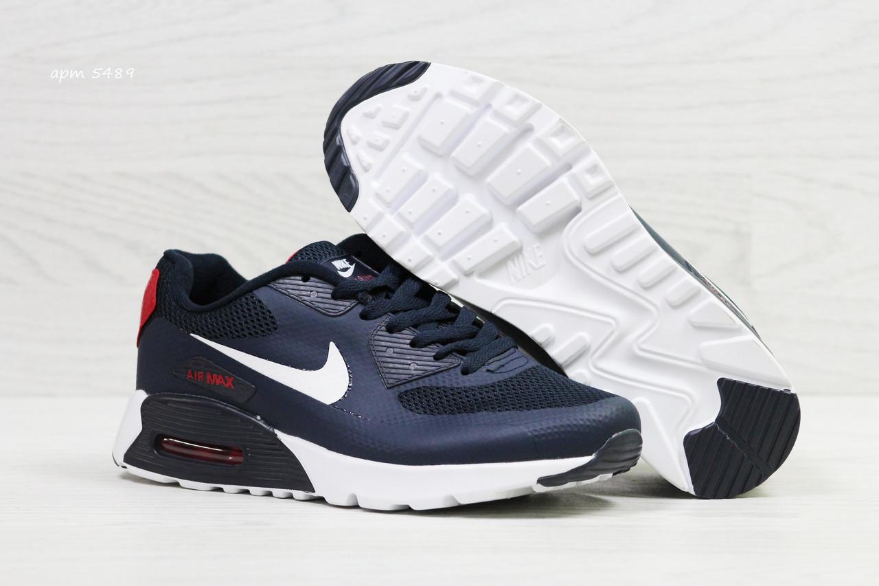 620ac911 Кроссовки мужские в стиле Nike Air Max код товара SD-5489. Темно-синие