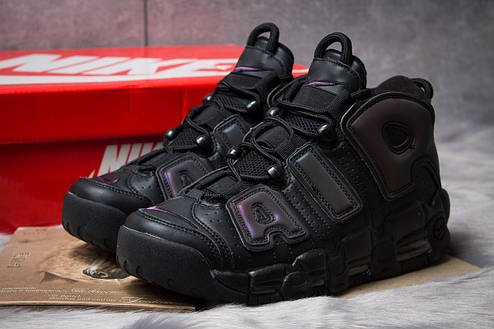 Кроссовки мужские Nike More Uptempo, черные (14821) размеры в наличии ► [  42 44  ], фото 2