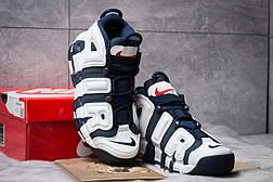 Кроссовки мужские Nike More Uptempo, темно-синие (14824) размеры в наличии ► [  43 44 46  ], фото 3