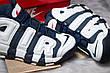Кроссовки мужские Nike More Uptempo, темно-синие (14824) размеры в наличии ► [  43 44 46  ], фото 2