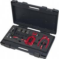 Набор для развальцовки и резки трубок профессиональный (16 единиц)  KS Tools Германия