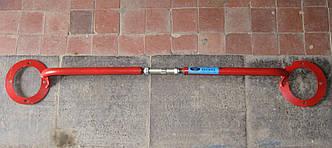 Растяжка стоек для автомобилей Daewoo Lanos, Sens ZAZ (красная)
