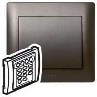 Galea Life Лицевая панель для механизма звуковой трансляции FM-тюнер+адаптер, темная бронза Legrand