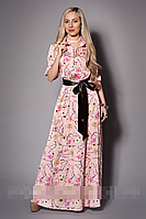 Женское платье мод 468-6, размер 46,48,50 сакура розовая (А.Н.Г.)