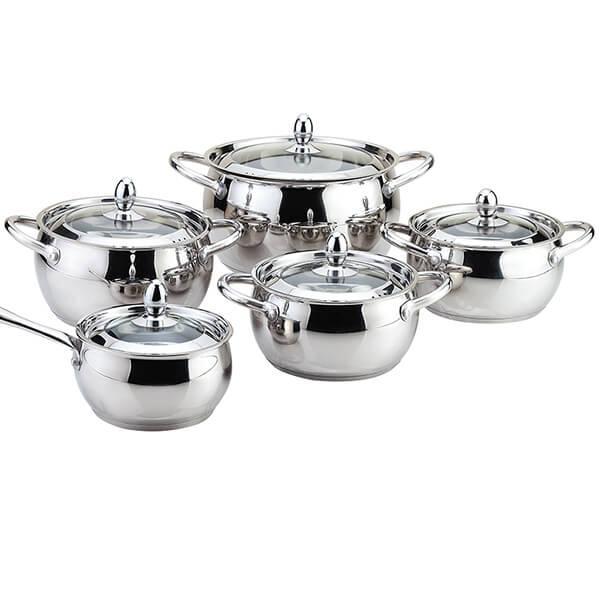 Набор посуды 10 пр. Maestro MR 3509-10