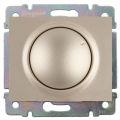 Galea Life Лицевая панель для светорегулятора поворотного, титан Legrand
