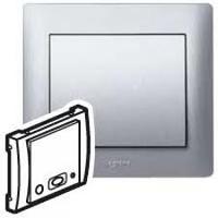 Galea Life Лицевая панель для центрального блока, алюминий Legrand