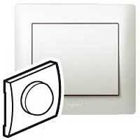 Galea Life Лицевая Панель поворотного Светорегулятора (диммер) 420Вт,   перламутр