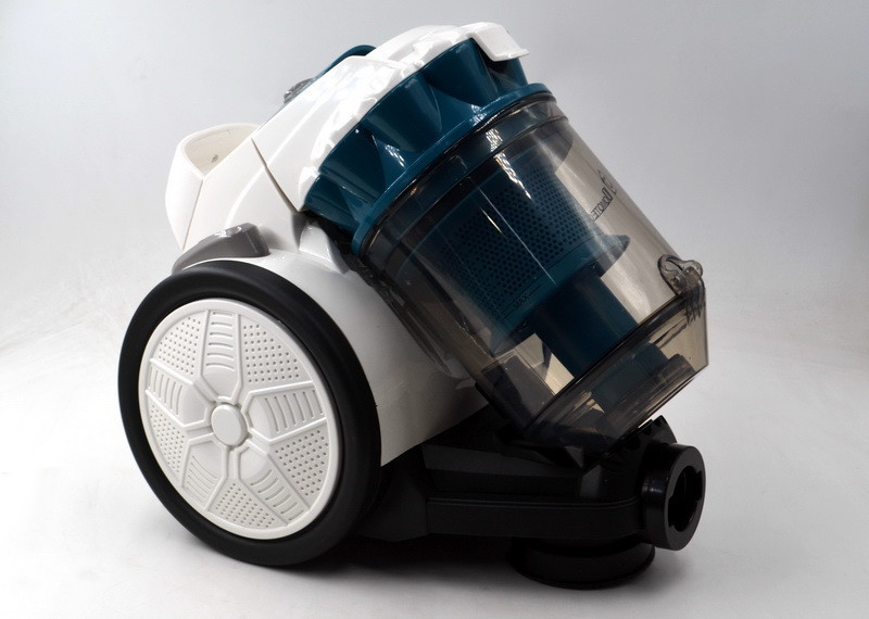 Циклонный пылесос Domotec MS 4410, контейнерный, 1200 Вт, Белый