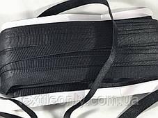 Резинка для бретелей цвет черный 15 мм, фото 3