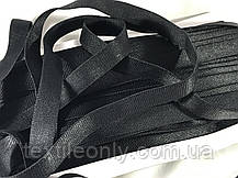 Резинка для бретелей цвет черный 15 мм, фото 2