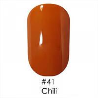 Гель-лак 041 Gel Polish 6 мл  NAOMI (оранжево кирпичный)