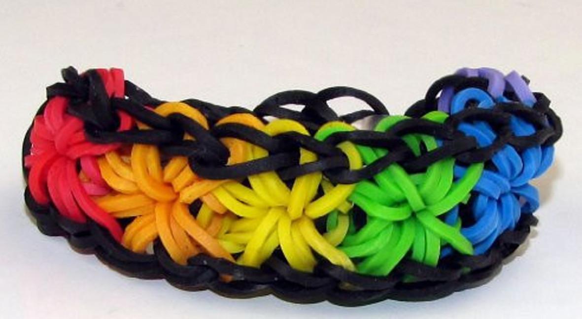 Набор резиночек Rainbow Loom bands 1800 шт.