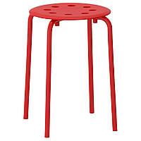 IKEA MARIUS (002.461.96) Табурет, красный
