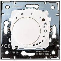 Galea Life Термостат з датчиком для теплої підлоги (диапазон регул.: от +10°C до +60°C ), (16А при cosф=1) 230В~ , з лиц.панелью белая