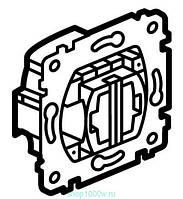 Galea Life Выключатель 10А, 250В ~ для рольставней с электрической блокировкой, 2-клавишный (без фиксации)