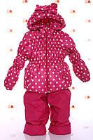 Демисезонный  костюм (куртка и штаны) для девочек  , фото 1