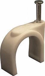 Скоба круглая для крепления провода (100шт), Инекст